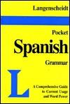Pocket Grammar Spanish - Langenscheidt