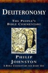 Deuteronomy: A Bible Commentary for Every Day (People's Bible Commentary) - Philip Johnston