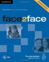 Face2face Pre-Intermediate Teacher's Book with DVD - Chris Redston, Jeremy Day, Gillie Cunningham