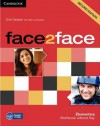 Face2face Elementary Workbook Without Key - Chris Redston, Gillie Cunningham
