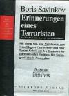 Erinnerungen eines Terroristen - Boris Savinkov, Arkadi Maslow, Barbara Conrad, Hans Magnus Enzensberger