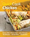 Quick Cook Chicken - Emma Jane Frost