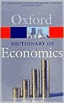 A Dictionary of Economics - John Black