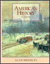 American History 1-2: A Survey (w/Map) - Alan Brinkley