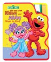 Lift and Look Elmo and Abby Want to Play - SoftPlay