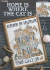 Home Is Where the Cat Is: Cross Stitch - Joan Elliott
