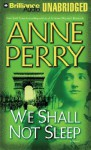 We Shall Not Sleep (World War One Series, #5) - Anne Perry, Michael Page