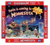 Santa Is Coming to Minnesota jigsaw puzzle: 300 piece jigsaw puzzle - Robert Dunn