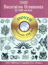 1500 Decorative Ornaments CD-ROM and Book - Dover Publications Inc.