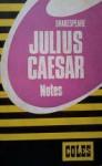 Julius Caesar - Coles Notes, William Shakespeare