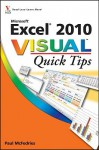 Excel 2010 Visual Quick Tips - Paul McFedries