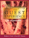 Managing the Guest Experience in Hospitality - Robert Ford
