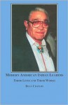 Modern American Indian Leaders: Their Lives and Their Work - Dean Chavers