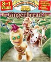 The Gingerbread Man All-in-One Classic Read Along Book /CD - Larry Carney
