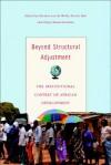 Beyond Structural Adjustment: The Institutional Context of African Development - Nicolas Van de Walle, Nicole Ball, Vijaya Ramachandran