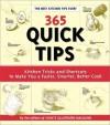 365 Quick Tips - Alan John / Witschonke Burgoyne, Jack Bishop, Editors of Cook's Illustrated Magazine, Cook's Illustrated Magazine, John Burgoyne, Alan Witschonke