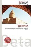 Qadiriyyah - Lambert M. Surhone, VDM Publishing, Susan F. Marseken