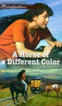 A Horse of a Different Color (Horsefeathers 4) - Dandi Daley Mackall