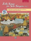Folk Songs for Solo Singers, Vol 2: Medium High Voice, Book & CD - Jay Althouse