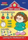 Fisher Price Little People First Grade Workbook-Volume 1 - Modern Publishing
