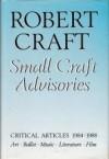 Small Craft Advisories - Robert Craft