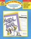Vocabulary Centers, Grades 4-5 - Sandi Johnson, Camille Liscinsky, Jim Palmer