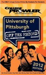 University of Pittsburgh 2012: Off the Record - Courtney Vock, Jamie Cruttenden, Tim Williams