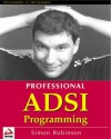 Professional ADSI Programming- Active Directory Services Interface - Simon Robinson