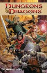 Dungeons & Dragons Vol. 1 - Shadowplague - John Rogers, Alex Irvine, Paul Reynaud, Peter Bergting, Andrea DiVito, Wayne Reynolds