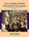 Years of Weimar, the Third Reich and Post-War Germany - Jane Jenkins, David Evans