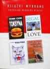 Toksyna; Only love; Ucieczka Natana; Biała puma - Erich Segal, Robin Cook, John Gilstrap, Ronald Douglas Lawrence