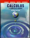 Calculus: A Complete Course (2nd Edition) - Ross L. Finney, Bert K. Waits, Franklin D. Demana