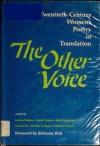 The Other Voice: Twentieth-Century Women's Poetry in Translation - Joanna Bankier, Carol Cosman, Doris Earnshaw