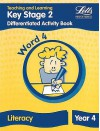 Differentiation Activity Book: Word 4: Key Stage 2: Year 4: Literacy - Louis Fidge, Ray Barker, Roy Barber