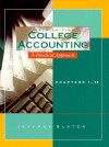 College Accounting: A Practical Approach, Chapters 1-15 - Jeffrey Slalter, Jeffrey Slater