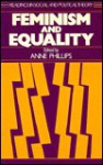 Feminism and Equality - Anne Phillips