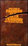 Alta traición: antología poética - José Emilio Pacheco
