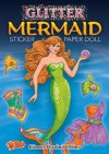 STICKERS: Glitter Mermaid Sticker Paper Doll - NOT A BOOK