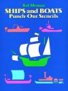 Ships and Boats Punch-Out Stencils - Ted Menten