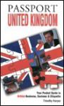 Passport United Kingdom - Timothy Harper