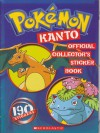 Pokemon: Kanto Official Collector's Sticker Book - Maria S. Barbo
