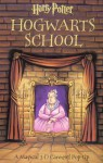 Harry Potter Hogwarts School: A Magical 3-D Carousel Pop-Up - Joe Vaux, Renee Jablow