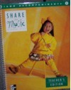 Share The Music Piano Accompaniments Grade 1 Teacher's Edition - Judy Bond, Rene Boyer-White, Margaret Campbelle-deGard, Marilyn Copeland Davidson, Robert de Frece