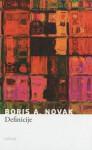Definicije - Boris A. Novak