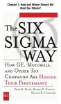 The Six SIGMA Way, Chapter 7 - How and Where Should We Start Our Efforts? - Peter S. Pande, Robert P. Neuman, Roland R. Cavanagh