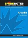 Arcadia (SparkNotes Literature Guide Series) - Tom Stoppard