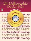 24 Calligraphic Display Fonts CD-ROM and Book - Dover Publications Inc.