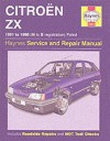 Citroen Zx Petrol/Service And Repair Manual (Haynes Service And Repair Manuals) - Mark Coombs