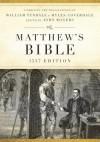 The Matthew's Bible: Black, Genuine Leather, 1537 Edition (Hendrickson Bibles) - John Rogers, Joseph W. Johnson