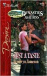 Just a Taste (Dynasties: The Ashtons, #4) - Bronwyn Jameson